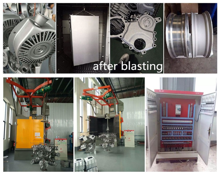 Hook Type Shot Blasting Machine Installation Case