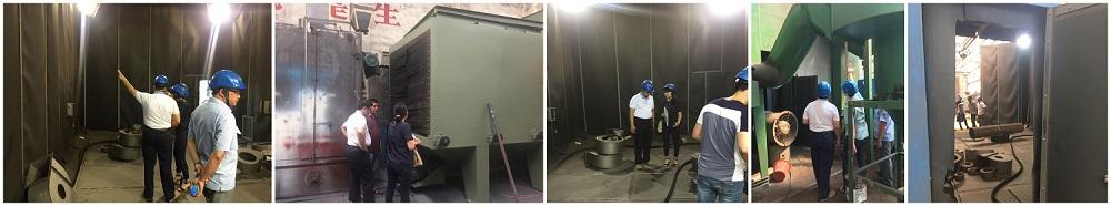 JX Abrasive Blasting Room