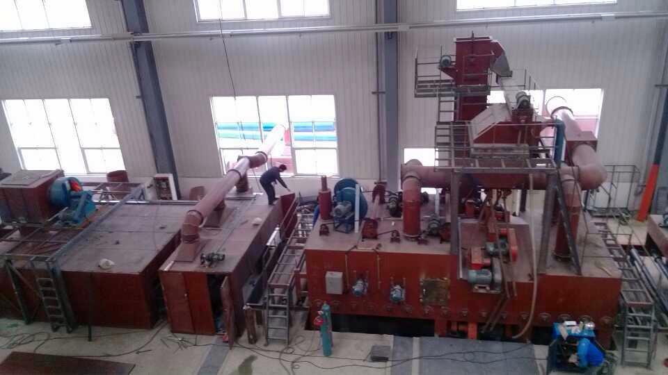 JX Abrasives Steel Plate Preservation Line Installation case