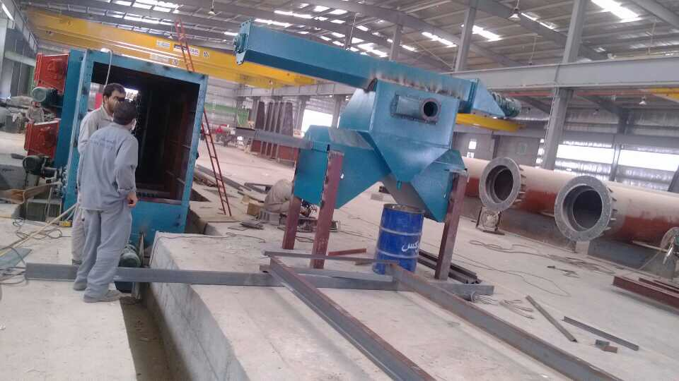 JX Steel Structure Shot Blasting Machine Installation Case