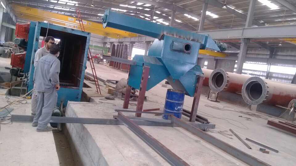 JX Steel Structure Shot Blasting Machine Installation Case