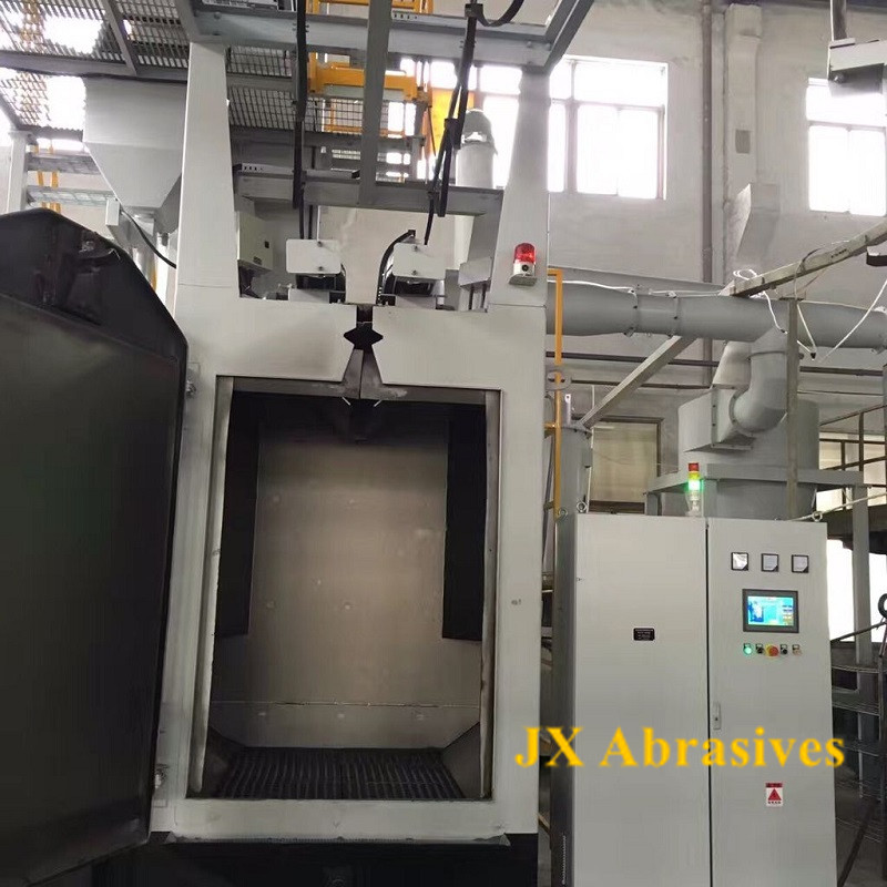 Hanger Shot Blasting Machine for Forging Parts