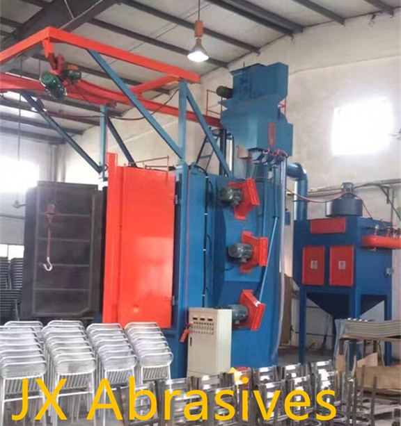 Hanger Shot Blasting Machine for Steel Furniture