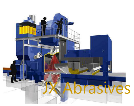 Automatic Sheet Metal Shot Blasting Equipment