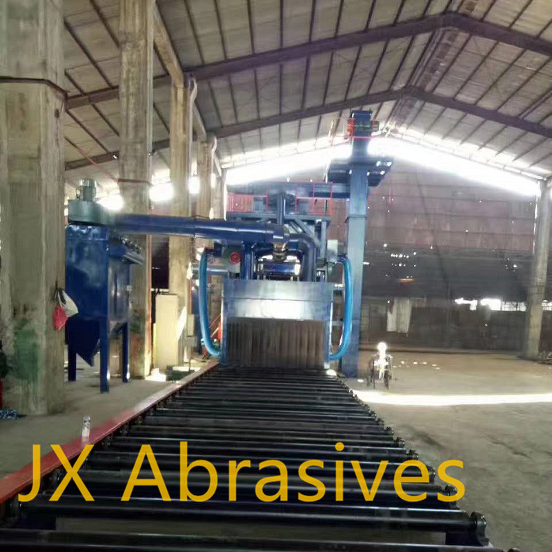 Plate & Structure Cleaning Shot Blasting Machine