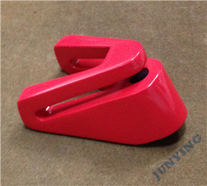 Zinc Alloy Lock Part Die Casting, Oiled Surface Treatment