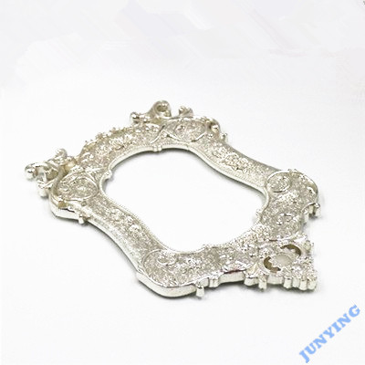 Photo Frame Aluminum Alloy Die Casting, Silver Plating Surface