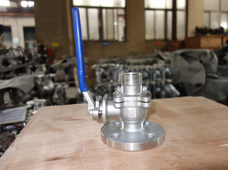 JIS Ball Valve with NPT and RF Ends