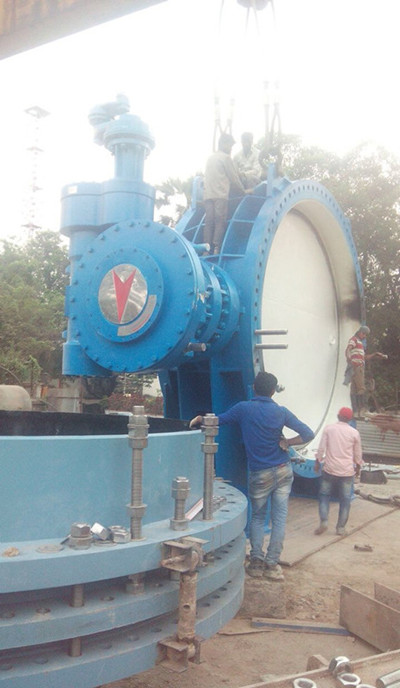 DN3750 Butterfly Valves Successfully Installed in India