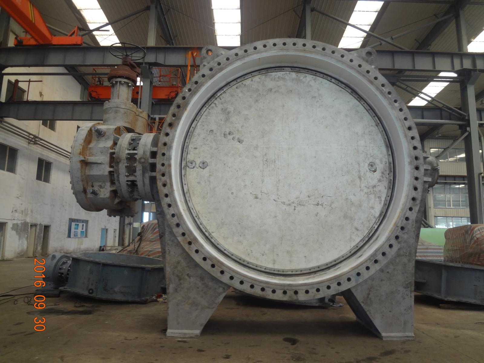 DN3750 Gearbox Operated Butterfly Valves