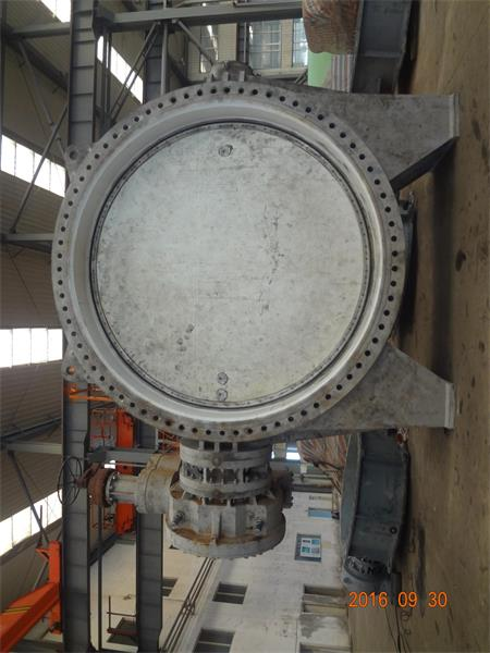 DN3750 Gearbox Operated Butterfly Valves Completed