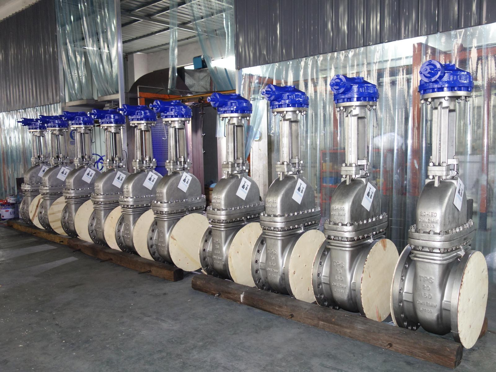 Gate Valves Made of the Special Material of Hastelloy C276