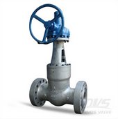 The Valve Body Flow Channel of the Gate Valve