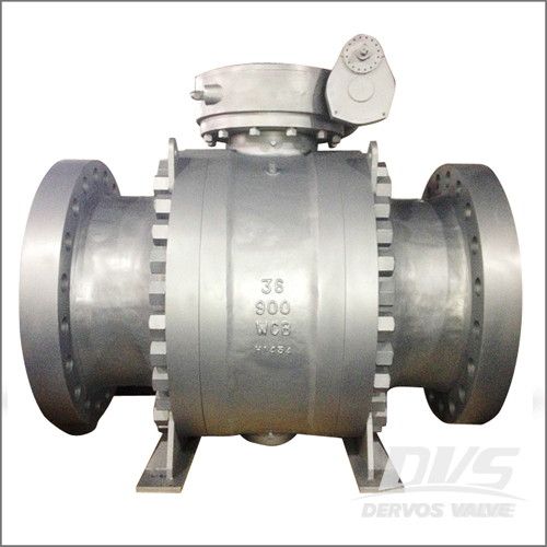 36 Inch Trunnion Ball Valve, WCB, API 6D, 36 Inch, Class 900, RTJ