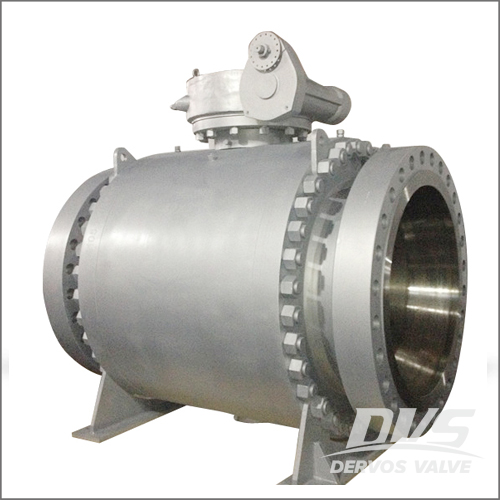 Flanged Ball Valve, API 6D, WCB, 32IN, CL900, Ring Type Joint
