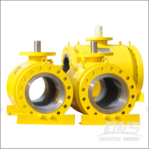 Jacketed Ball Valve, WCB, API 6D, DN600, PN50, Raised Face