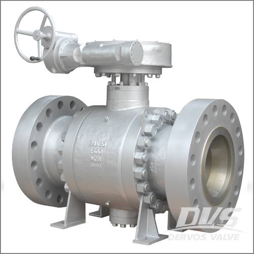 Reduced Bore Ball Valve, WCB, API 6D, 24 X 20IN, CL1500, RF
