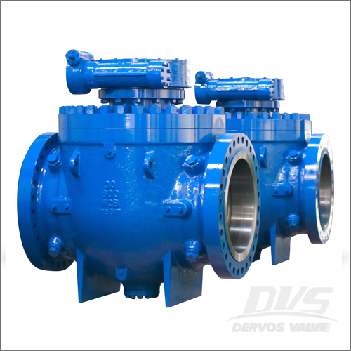 30 Inch Ball Valve, WCB, API 6D, Class 600, Raised Face, Gearbox