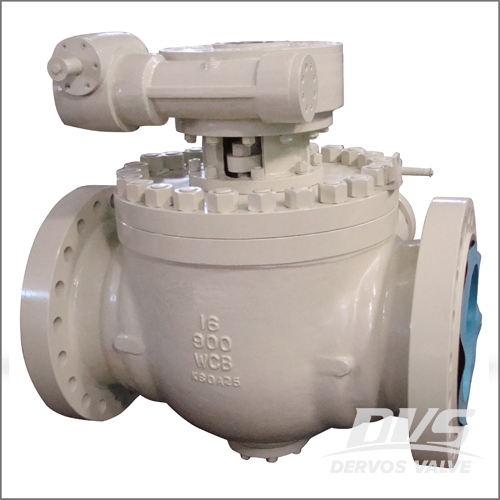 Stainless Steel Top Entry Ball Valve, WCB, API 6D, DN400, PN150