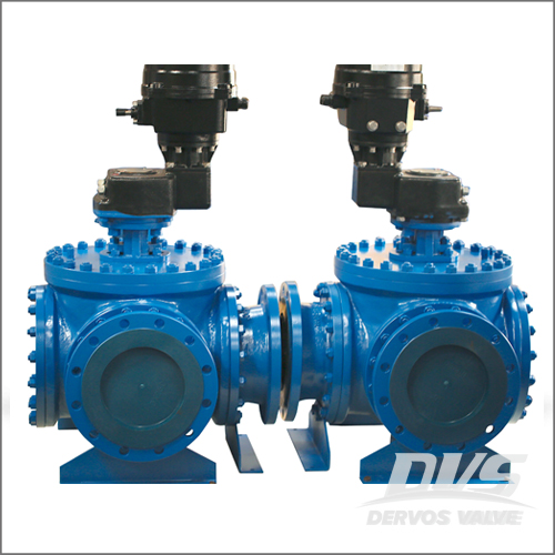 WCB Top Entry Ball Valve, API 6D, 8 Inch, Class 600, Raised Face