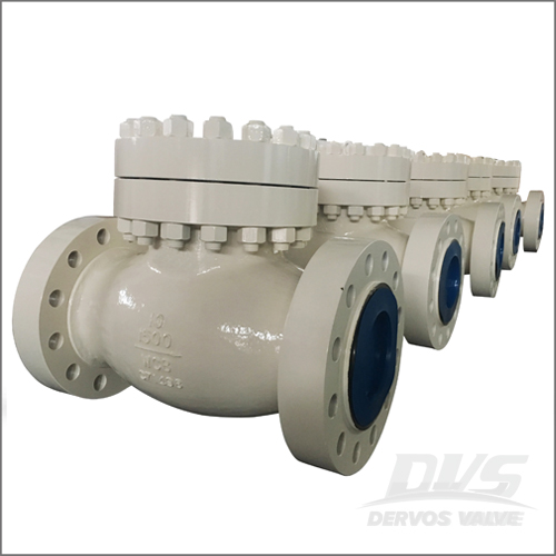 WCB Swing Type Check Valve, API 6D, BS 1868, 10 Inch, 1500 LB, RF
