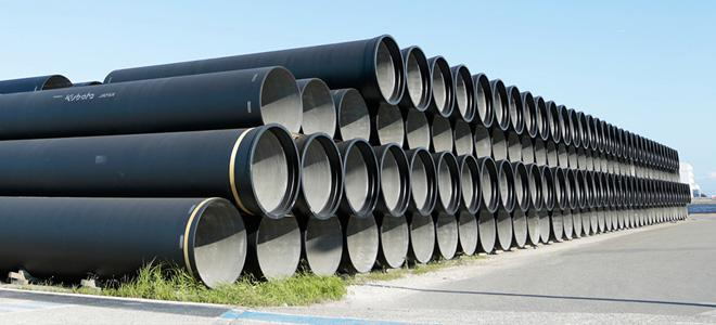 FBE Coated Steel Pipe with High Strength, PE Finish
