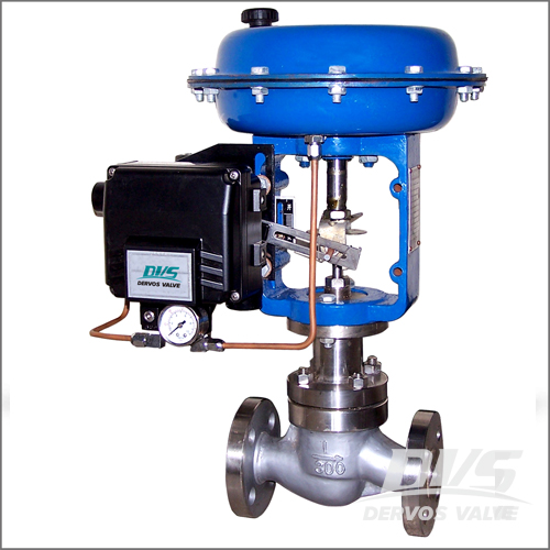 1 inch Control Valve, Carbon Steel, BS 1873, Class 300, RF End