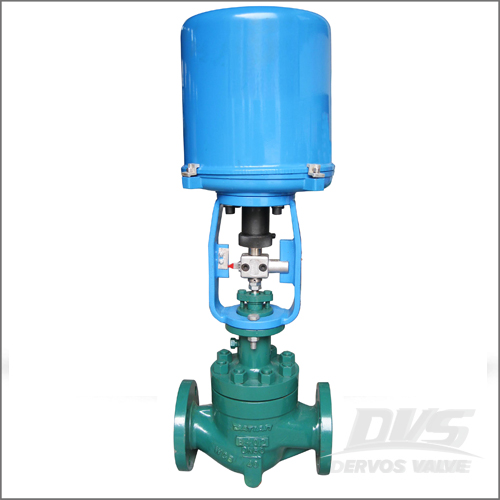 Alloy Steel Control Valve, DIN 3356, DN50, PN40, Electric Actuator