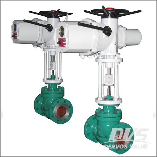 DIN 3356 Control Valve, WCB, DN65, PN40, RF End, Electric Actuator