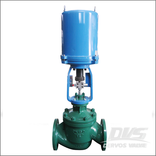 Single Seated Control Valve, WCB, DIN 3356, DN150, PN16, RF End