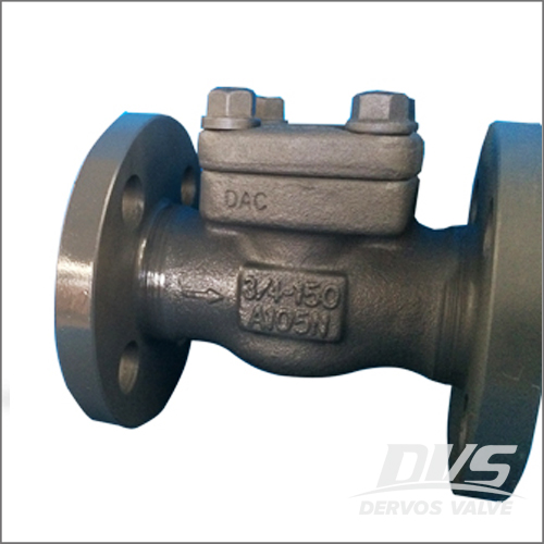 Integral Flanged Swing Check Valve