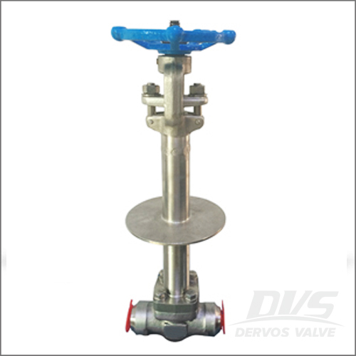 Butt-Welded Cryogenic Gate Valve