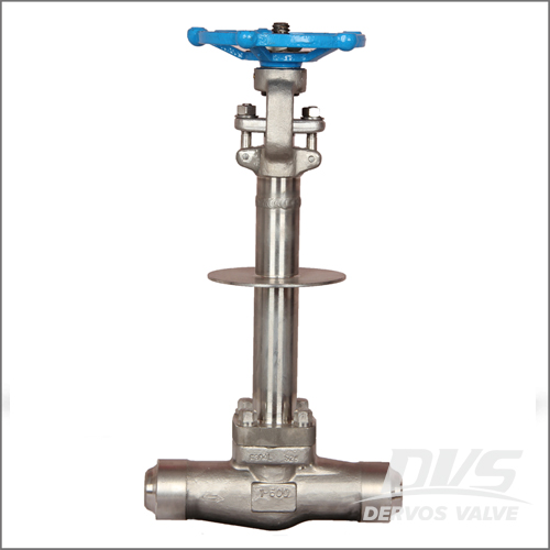 Butt Welded Cryogenic Gate Valve