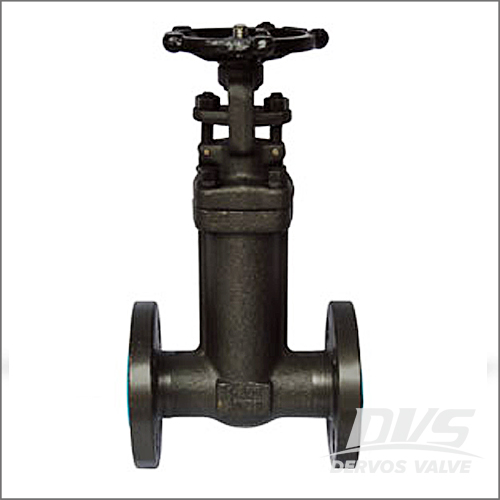 Integral Flanged Bellows Sealed Gate Valve