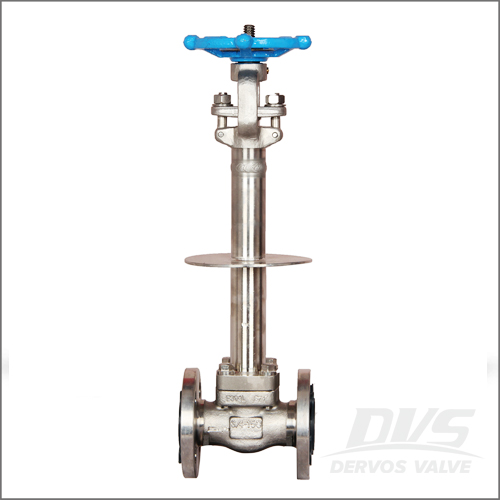 Integral Flanged Cryogenic Gate Valve