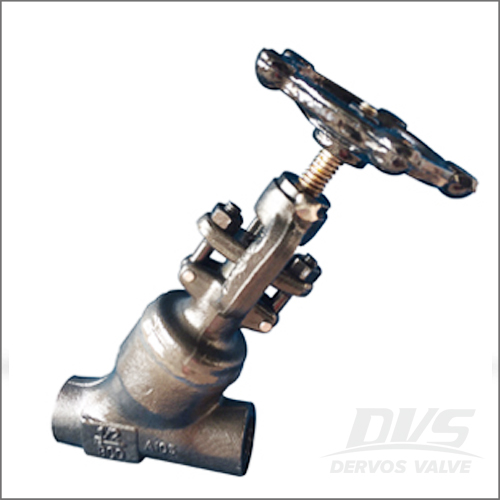 Y-Globe Valve - Welded Bonnet