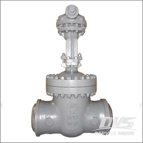 12 Inch Gate Valve, WCB, API 600, CL 900, Flange, Gearbox Operation