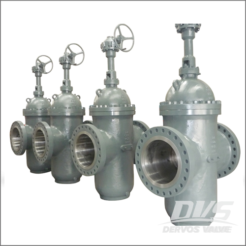 API 6D Flat Gate Valve, WCB, 22IN, 600LB, Raised Face, Gearbox