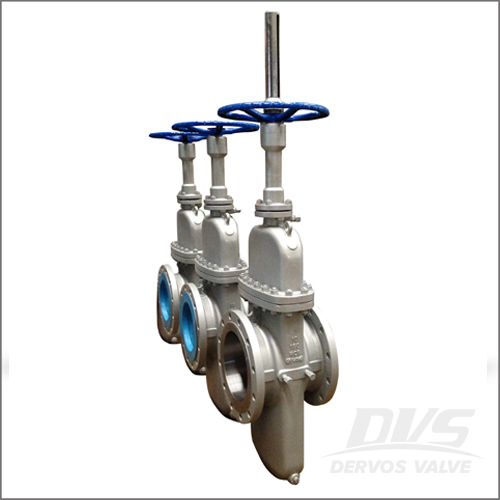 API 6D Flat Plate Gate Valve, WCB, 10IN, 150LB, Raised Face End