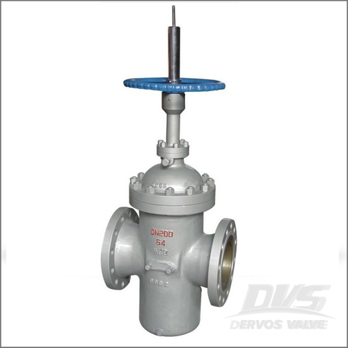 DIN 3352 Through Conduit Gate Valve, WCB, DN200, PN64, Raised Face