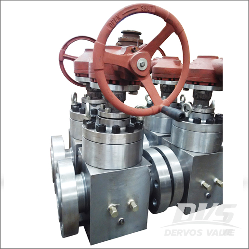 Forged Steel Gate Valve, API 6D, 6IN, 900LB, Flange End, Gearbox