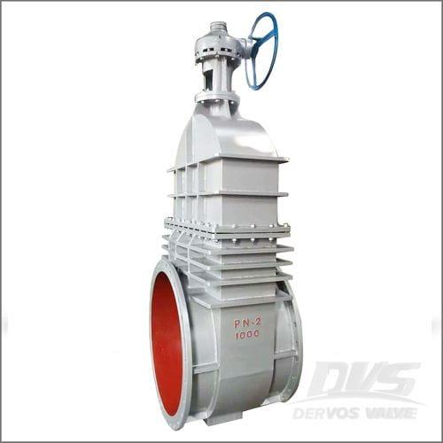 High Pressure Gate Valve, GS-C25, DIN 3352, DN1000, PN100, Flange