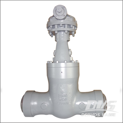 Pressure Balance Gate Valve, API 600, WCB, 8IN, CL2500, Butt Welded