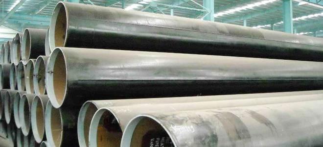 API 5L A-X90, API 5L A-X80 LSAW Steel Pipe