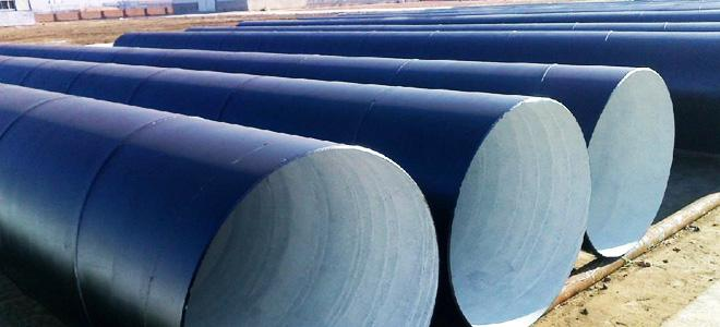 ASTM A252, ASTM A53 SSAW Steel Pipe