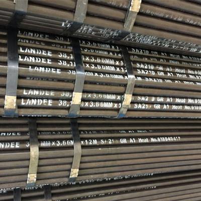 SA210 Gr. AL Boiler Tube, Alloy Steel, Seamless, 38.1 MM, 3.66 MM