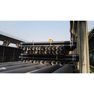 ISO 2531 C20 T Type Ductile Iron Pipe, DN900, 6 Meters