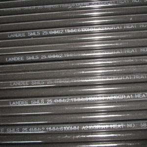 ASME B36.10 Seamless Pipe, ASTM A210 Gr.A1, 25.4mm, PE Ends
