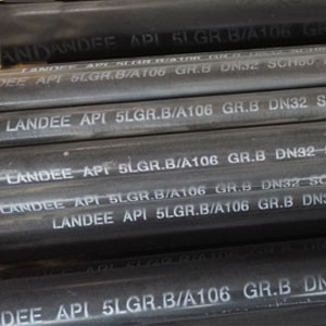 Seamless Pipe, A106 Gr.B, DN32, 6 Meters, SCH 80, BE End