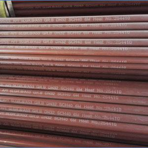 Seamless Pipe, API 5L A53 Gr.B, DN32, SCH 40, 6 Meters, Bevel End
